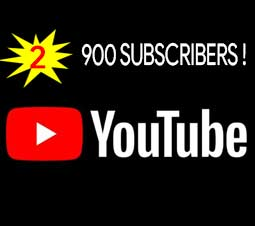900 YouTube Subs